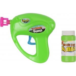 Buborékfújó pisztoly, zöld